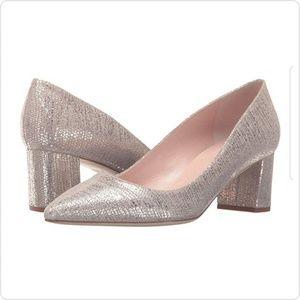 NEW | Kate Spade | Milan Gold Metallic Heels